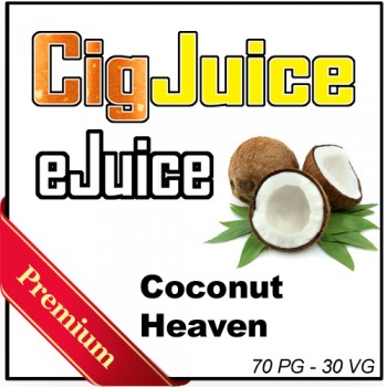 CigJuice -- Coconut Heaven (30 ml Bottles)