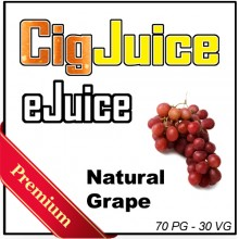 CigJuice -- Natural Grape (30 ml Bottles)