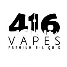 416 Vapes -- The Beach eJuice (30 ml Bottles)