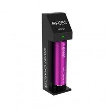 Charger -- Efest Pro C1 Single Bay Smart Charger